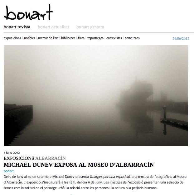 Imágenes para una exposición: prensa en Bonart