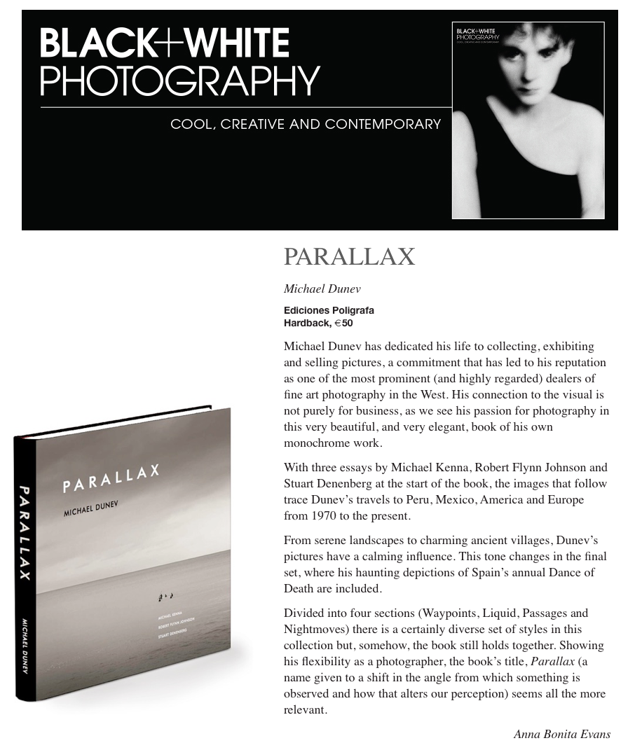 Press review about Parallax in Black + White Photography